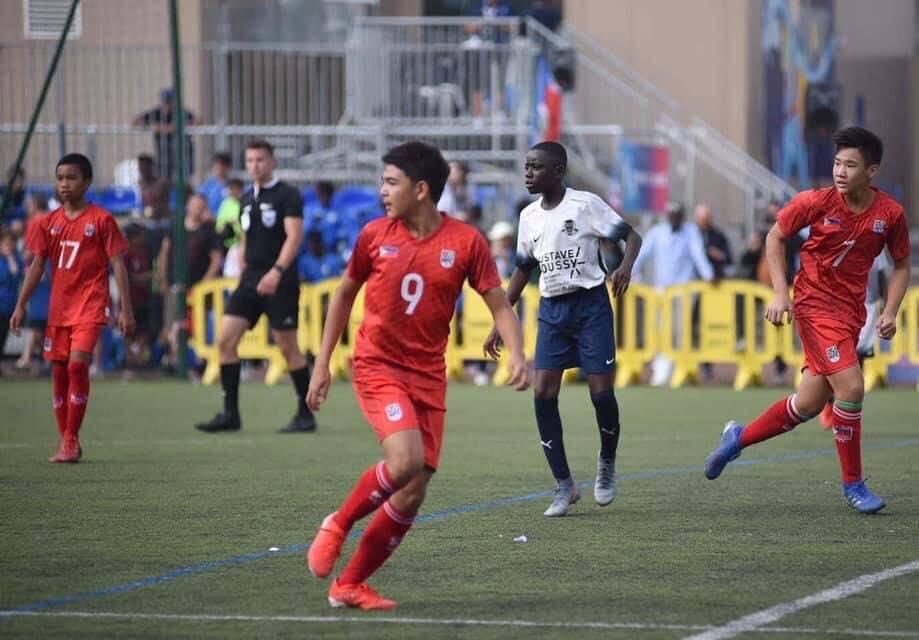 SUJH student as Makati FC's MVP