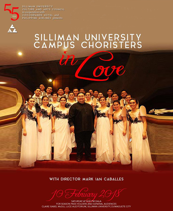 Silliman University Campus Choristers in Love