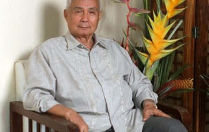 Professor Emeritus Dr. Alcala Named ASEAN Biodiversity Hero