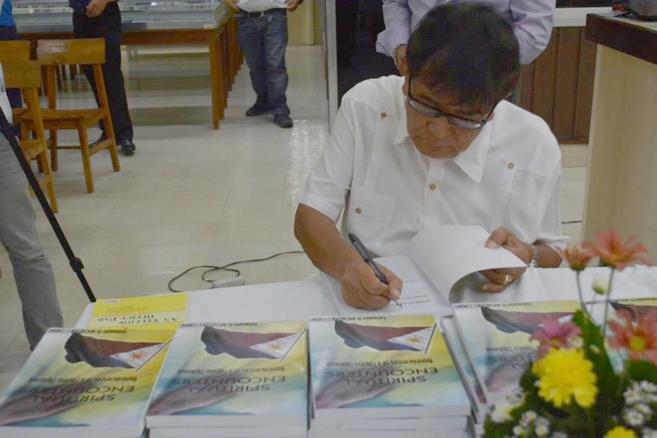 Ambassador Corsino Launches Book on Spiritual Encounters as a Diplomat