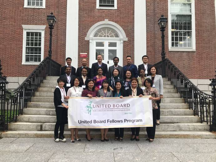 Associate Dean Completes First Part of UB Fellowship at Harvard U