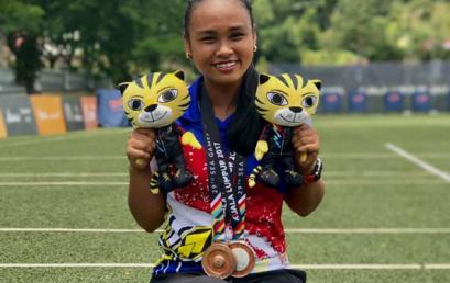 10th Grader Wins Silver, Bronze in SEA Games