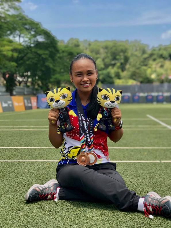 10th Grader Wins Silver, Bronze in SEA Games