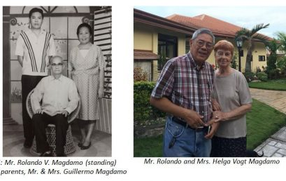 Magdamo Couple, PhilSouth Construction to Receive Prestigious Award