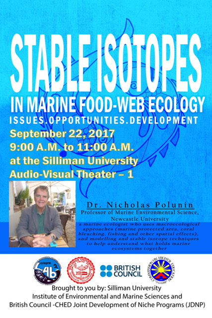 Lecture on Stable Isotopes in Marine Food-Web Ecology