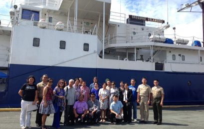 Dr. Alcala, Dr. Calumpong Attend Meeting on Collaborative Research with Philippine Navy