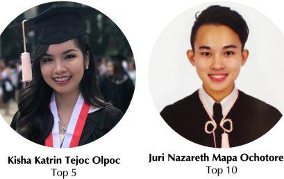 Two MedTech Grads Top Recent Board Exam