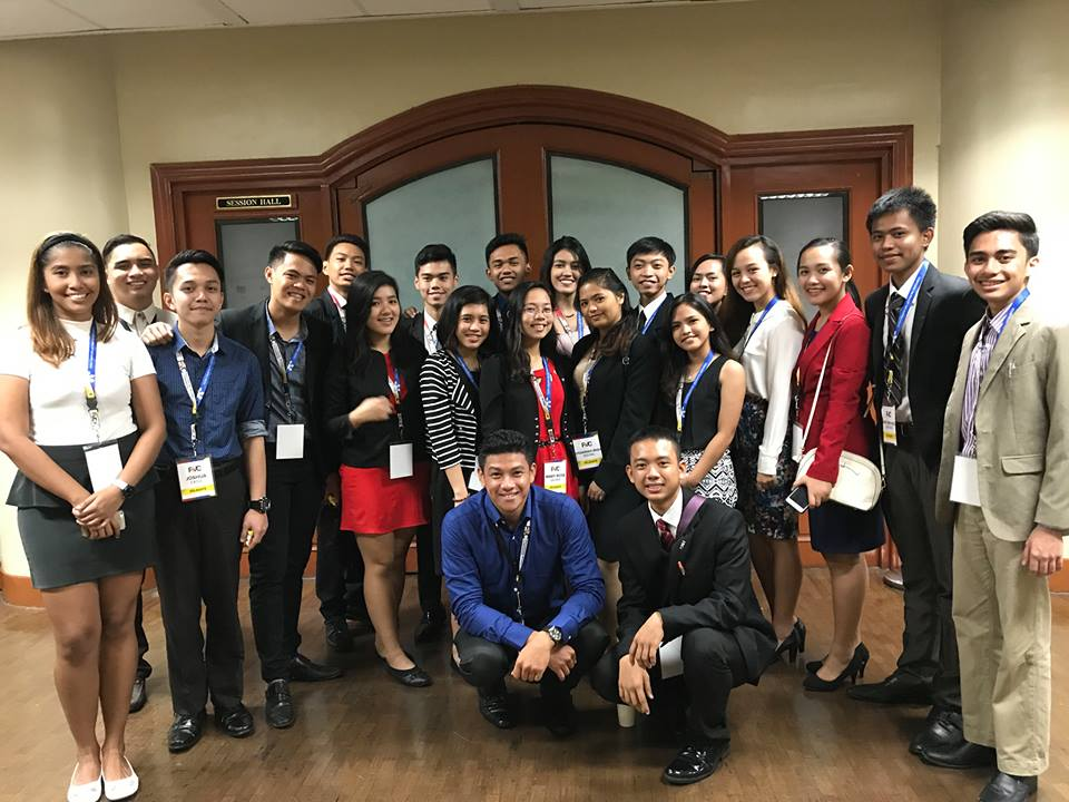 21 Students Attend Philippine Model Congress in Senate