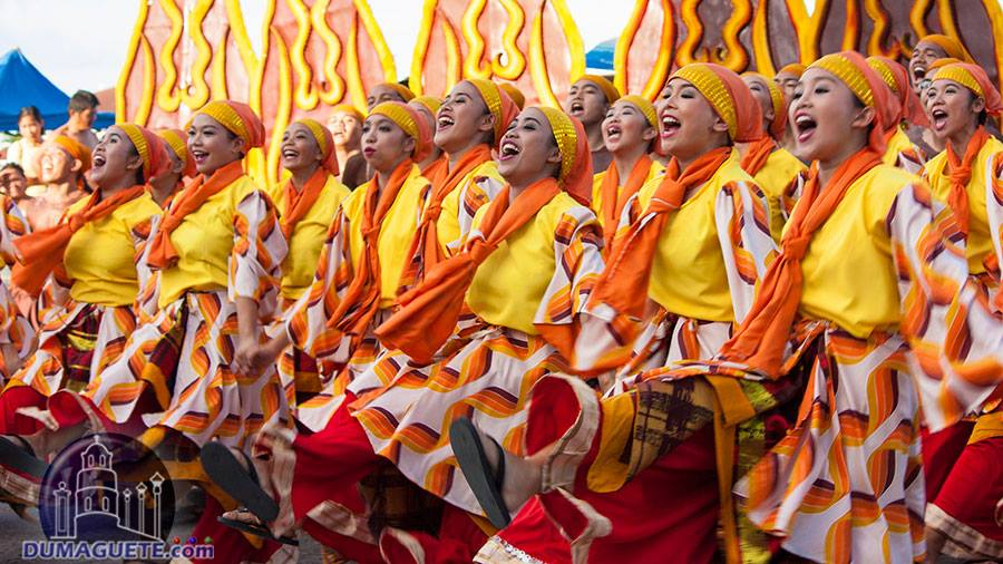 Silliman Contingent Bags Sandurot Festival Dance Championship