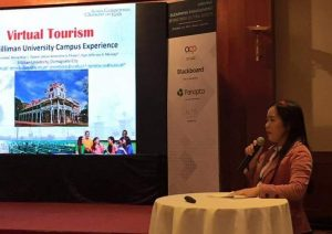 IT Chair Presents Paper on Virtual Tourism at eLearning Confab in
