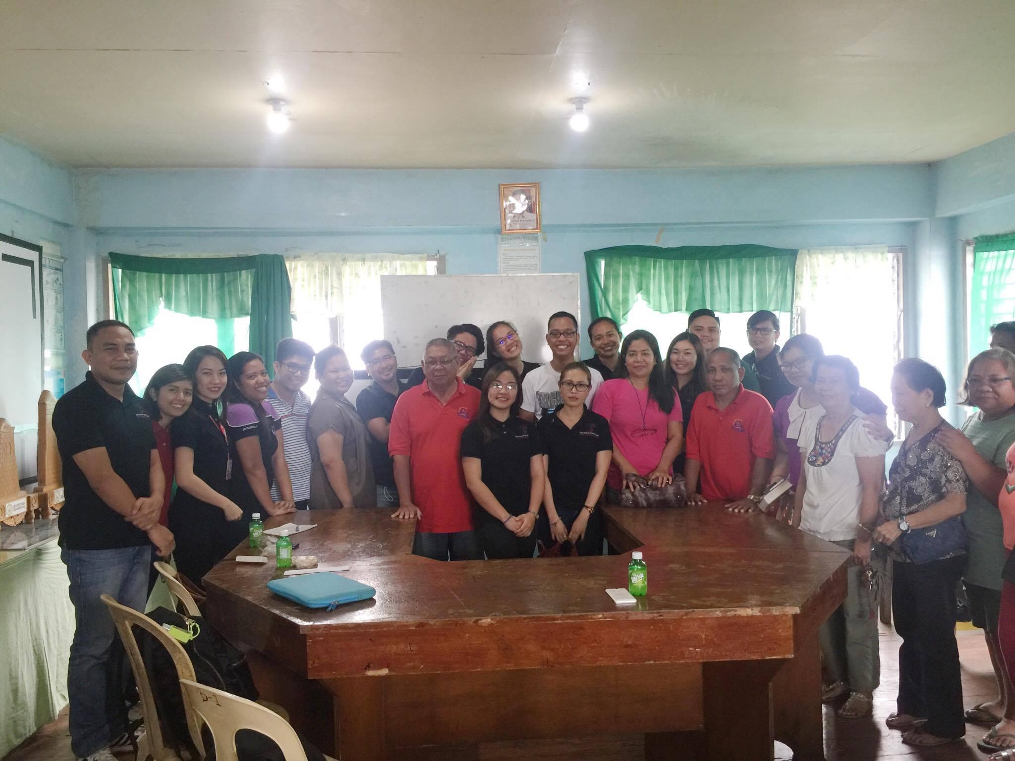 Salonga Center Gives Free Legal Seminar to Officials of Barangay Tinago