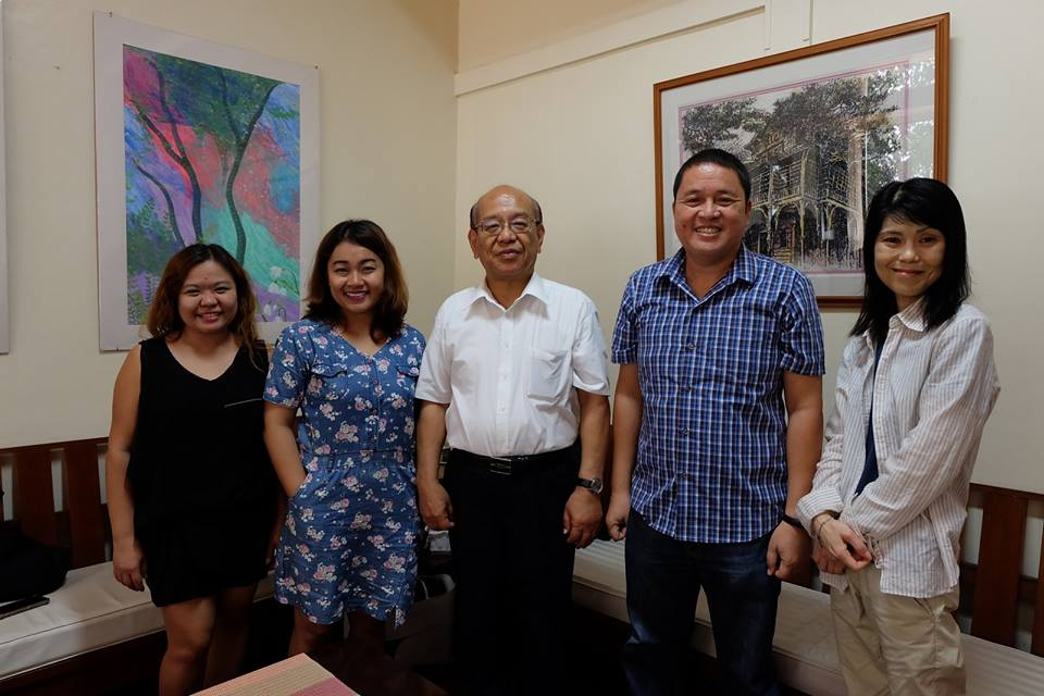 2 Shikoku Gakuin University Profs Visit Silliman for Students' Intensive English Program