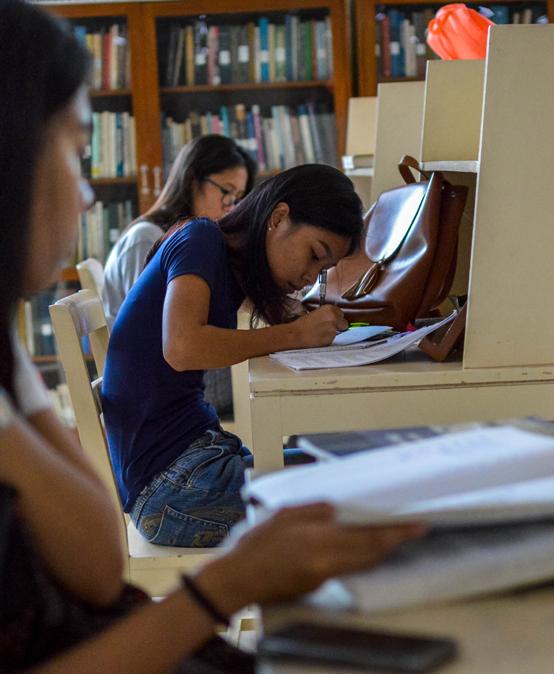 1st Semester Final Examinations (Photo by Jill Silva)