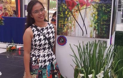 1st Year Fine Arts Major Wins Victorias Milling Art Contest
