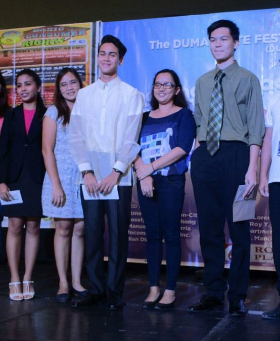 SHS Student Bags First Place in Dumaguete K-12 Extemporaneous Speaking Competition