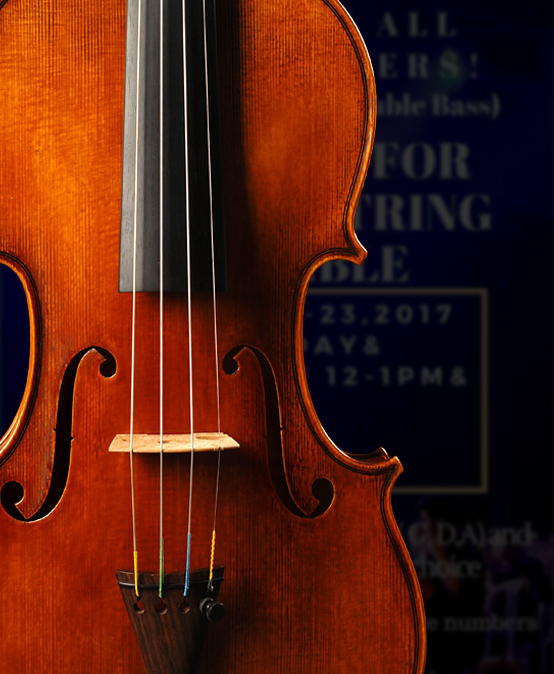 Auditions for Silliman String Ensemble