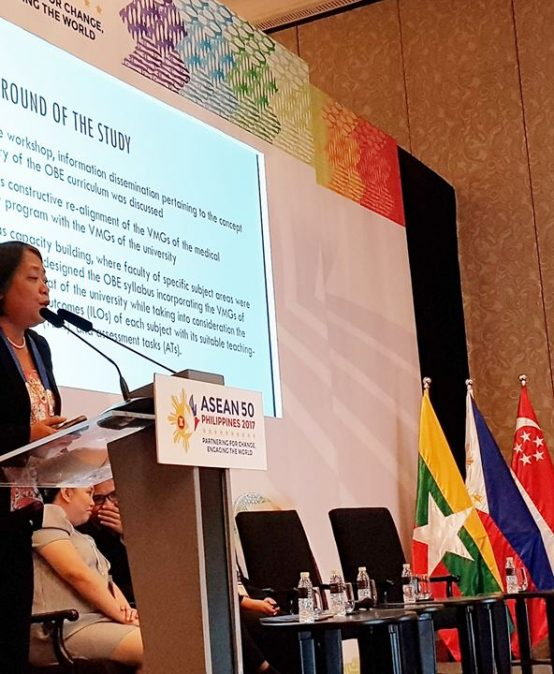 Paper on Outcome-based Ed by MedTech Faculty Wins in ASEAN Research Confab