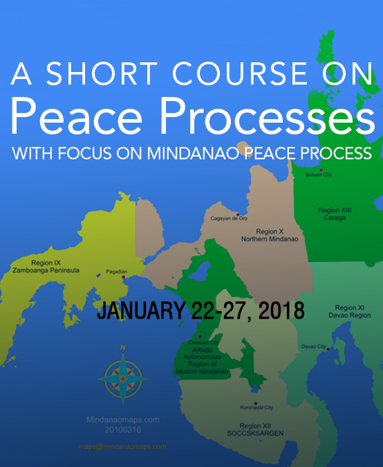 A Short Course on Peace Processes