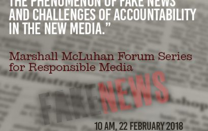"""Journalism Under Attack: The Phenomenon of Fake News and Challenges of Accountability in the New Media."""