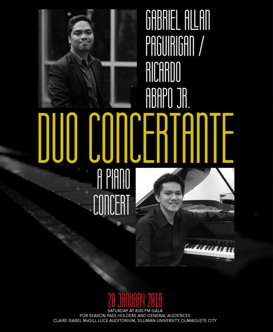 Duo Concertante Piano Concert