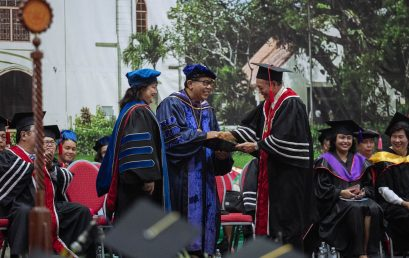 'Aim for Meaning in Life,' Outgoing Silliman President Dr. Malayang Urges Graduates