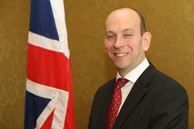 UK Ambassador to Give Talk at Luce