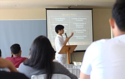 Debate Society Organizes Parliamentary Debate Training for Dumaguete Schools