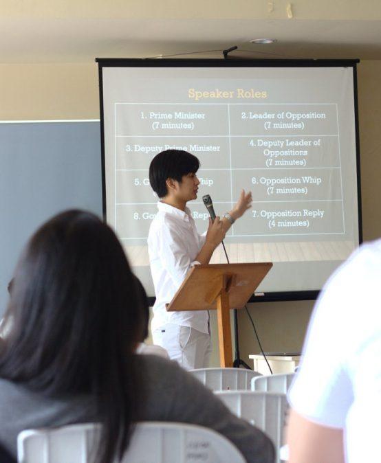 Debate Society Organizes Parliamentary Debate Training for Dumaguete Schools