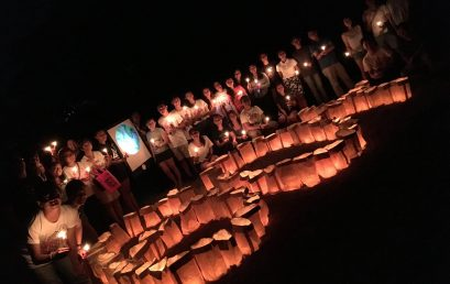 Campus Dimmed for Earth Hour