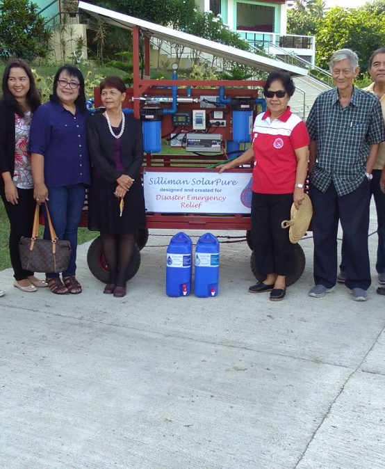Silliman Donates Solar-Powered Water Purifier to Dansalan College in Marawi