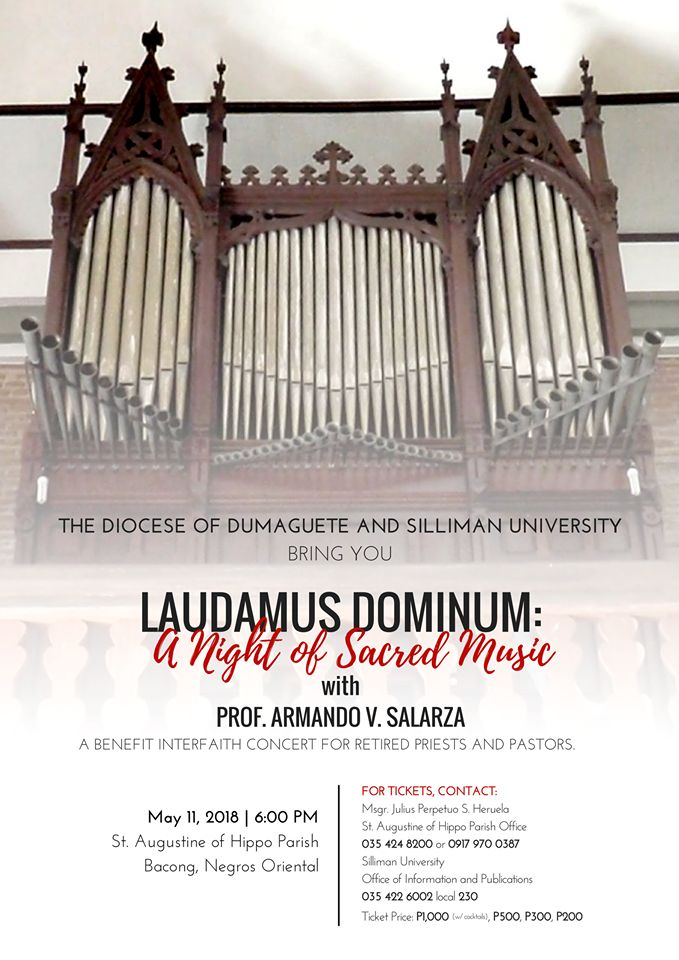 SU Organizes Benefit Interfaith Concert with Catholic Church Featuring Century-Old Pipe Organ
