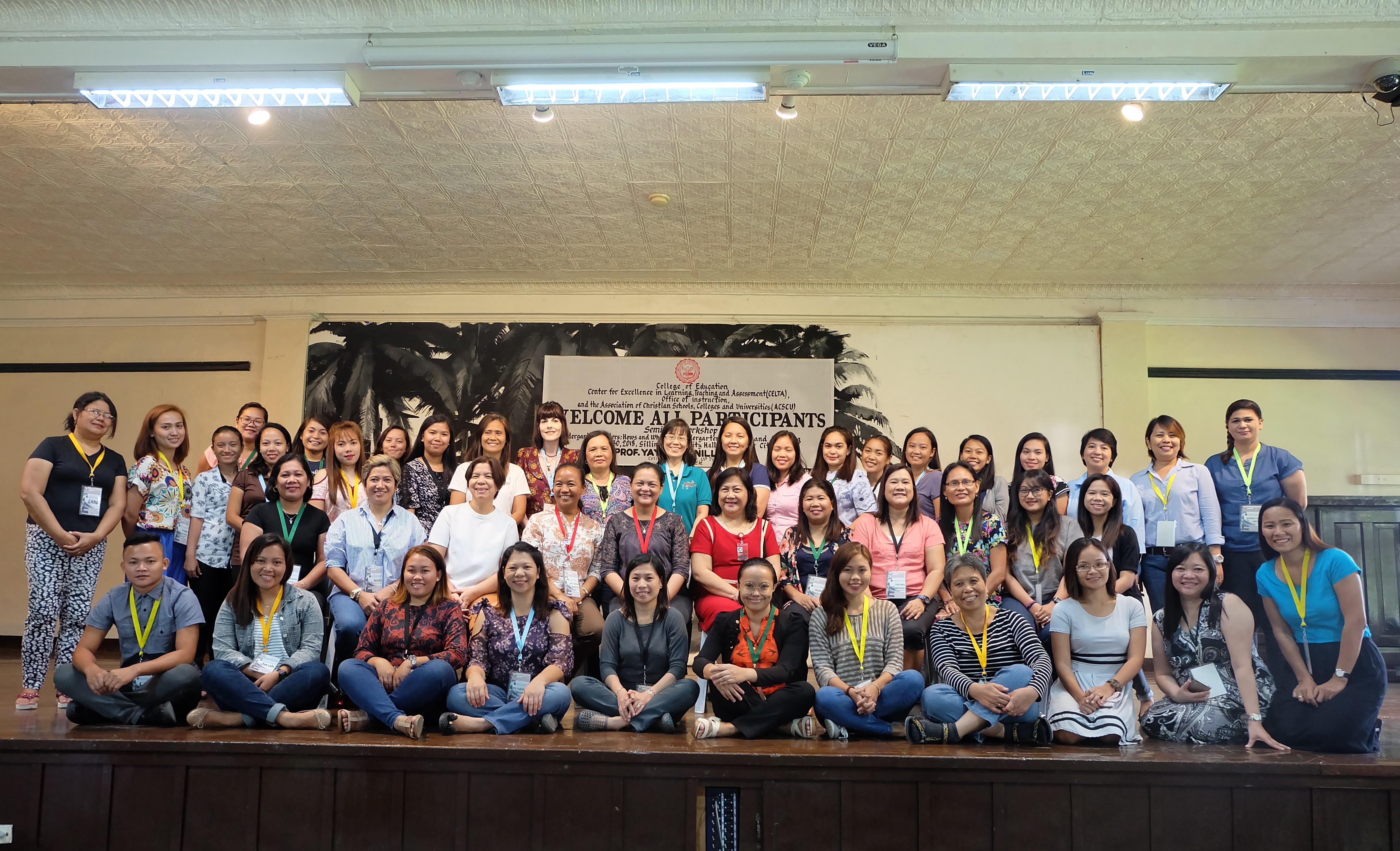 CELTA Hosts 40 Teachers from Vis-Min in Seminar-Workshop on Kindergarten Education