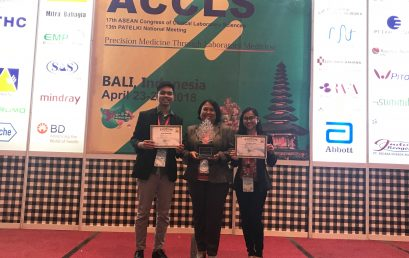 Faculty Clinches Best Poster Award in Clinical Lab Sciences ASEAN Congress