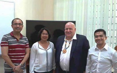 New Zealand Ambassador Promotes ASEAN Post-Grad Scholarship on Campus
