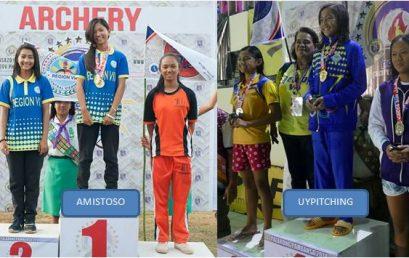 Amistoso, Uypitching Bag 6 Gold Medals in Palarong Pambansa