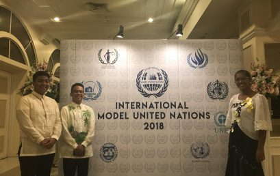 3 Silliman Students Earn Distinctions at International Model UN in Bangkok