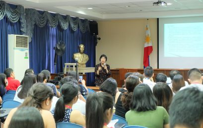 Former PH Ambassador to Turkey Talks on Security, Diplomacy to Foreign Affairs Majors