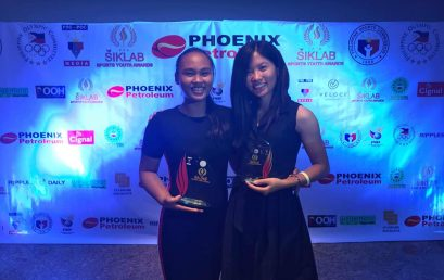 Tagle, Amistoso Among Young Athletes Honored for Bringing Pride to PH