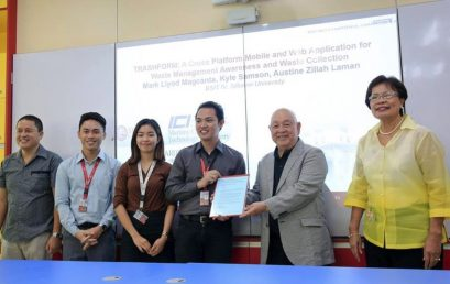 Student Projects Win Lao Grant of Up to P100,000