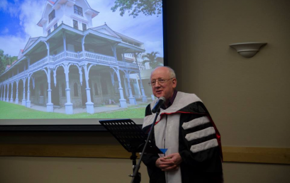 Silliman Confers Honorary Degree on New Zealander Philanthropist