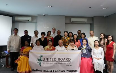 A/S Dean Wraps Up United Board Fellowship at Leadership Seminar