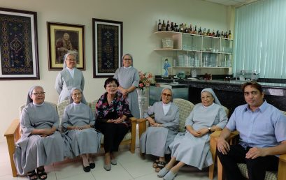President Betty Cernol-McCann visits SPUD and COSCA