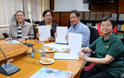 SU signs MOA with Pamantasan ng Cabuyao