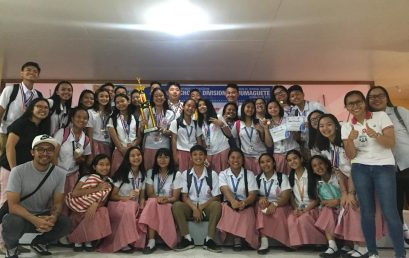 SU elementary, high school students advance to regional level  in DepEd Schools Press Conference