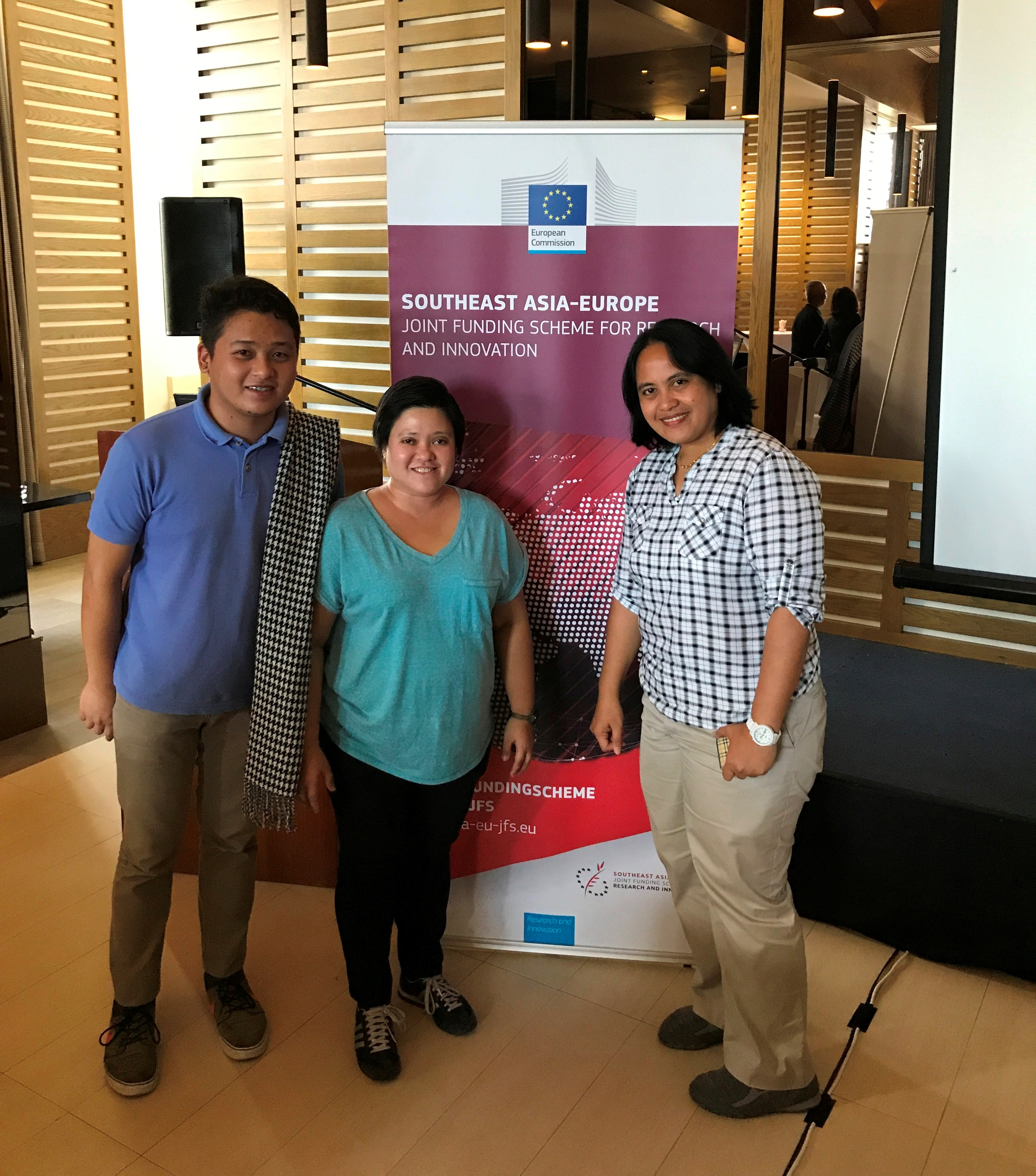 SU staff attend event on EU-SEA Joint Funding Scheme for Research and Innovation