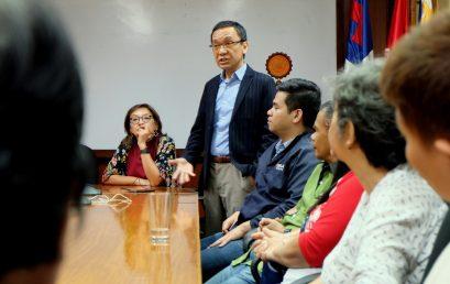 UNILAB Foundation reps meet Med School scholars