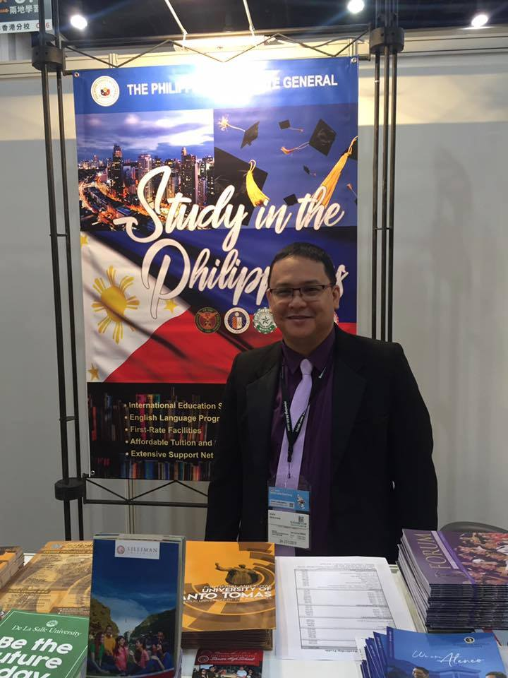 SU registrar attends Hong Kong education fair