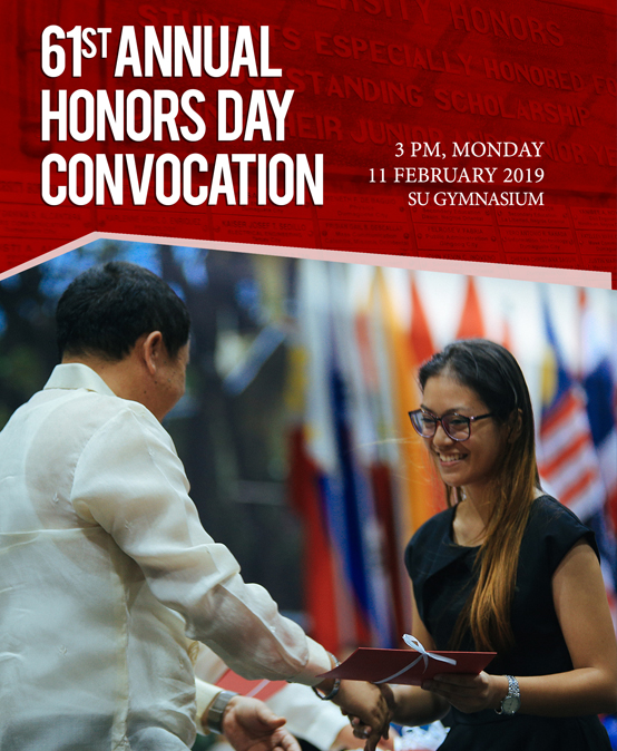 61st Annual Honors Day Convocation