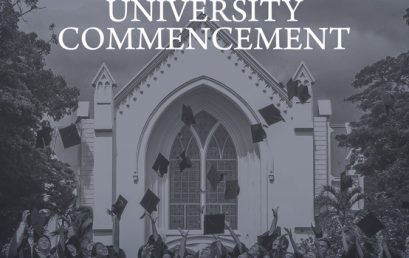 106th University Commencement Calendar of Activities