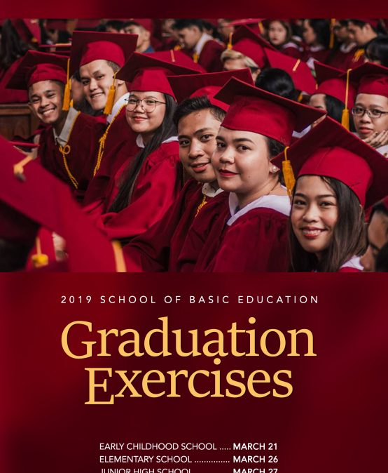 SBE Graduation Exercises Calendar of Activities